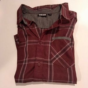 Men's Vans Off The Wall Button Down